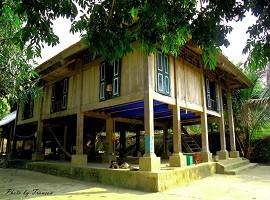 Cho thuê nhà sàn ở Đảo Dừa Thung Nai Hòa Bình, Nhà sàn ở Cối Xay Gió - Cho thue nha san o Dao Dua Thung Nai Hoa Binh, Nha san o Coi Xay Gio