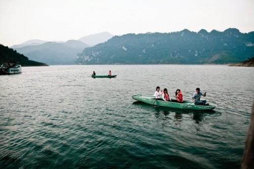 Kinh nghiệm du lịch Thung Nai Hòa Bình - Kinh nghiem du lich Thung Nai Hoa Binh