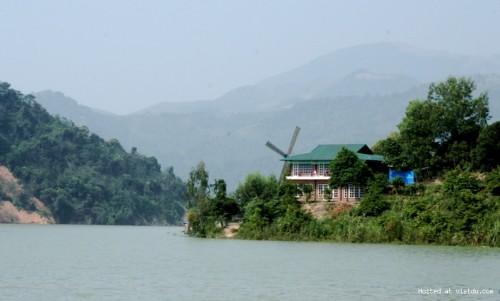 Nhà nghỉ Bạn Bè - Cối xay gió tại Thung Nai - Nha nghi Ban Be - Coi xay gio tai Thung Nai